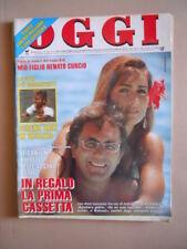 OGGI n°30 1990 Albano Rimona Power Oriana Fallaci Bud Spencer Rivera [G52B]