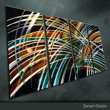 Original Metal Wall Art Abstrlact Painting Sculpture Indoor Outdoor Decor-Zenart
