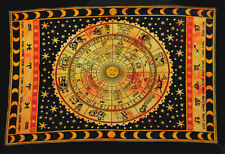 Religious Cotton Poster Hindu Magic Handmade Home Decor Tapestry Dorm Yoga Mat