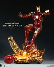 Sideshow Marvel Avengers Iron Man Mark 7 VII 1/4 Scale Maquette Statue In Stock