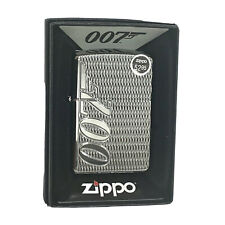 *Rare* Zippo - James Bond 007 High Polish Chrome Armor Lighter 29550, FREE SHIP!
