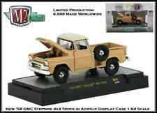 M2 Machines 1:64th Diecast Car '58 GMC Stepside Truck in Acrylic Display Case