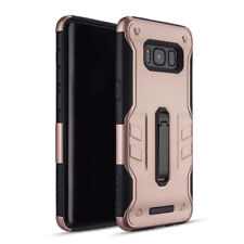 For Samsung Galaxy S8, Plus Case Slim Rugged Protective Defender Kickstand Cover