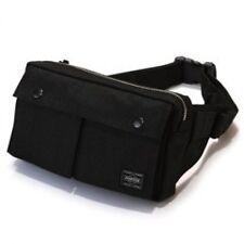 New Yoshida PORTER SMOKY WAIST BAG 592-07507 Black From Japan