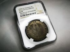 Philippines Isabel II Counterstamped C/S Colombia 8 Reales 1835 NGC VF35 SCARCE