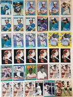 1986 Topps 386 Cecil Fielder Rookie Card Toronto Blue Detroit 1987 Topps Lot (39