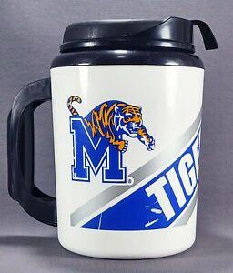 Memphis Tigers Logo Thermo Serv Super Insulated 32 Oz. Travel Mug