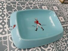 More details for vintage 1960s johnnie walker red label whiskey wade ceramic ashtray