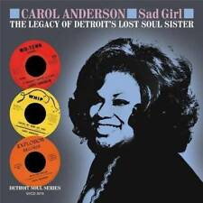 CAROL ANDERSON Sad Girl NEW & SEALED NORTHERN SOUL CD (GRAPEVINE) R&B 70s SOUL