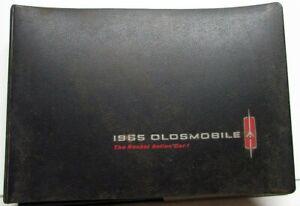1965 Oldsmobile Dealer Album Sales Color & Fabric Selector 98 88 Vista Cruiser