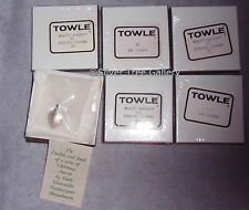 NISB Towle Sterling Silver 12 Days Christmas Complete Charm Set 1971~1982