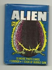 Alien Movie Trading Cards (Topps, 1979) Wax Pack