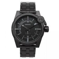 Diesel Men's Advanced Black IP Stainless Steel Watch DZ4235