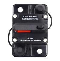 50A/80A/100A 12V-42V Circuit Breaker for Car Truck Rv ATV Marine Boat Vehicles