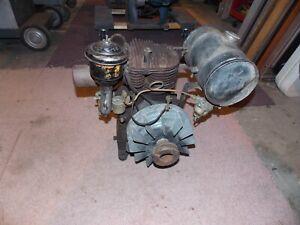 Vintage Complete Cushman Husky Model 2m156 2hp 1800rpm Engine No. A68565 Nice