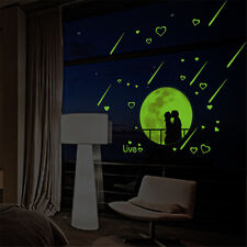 Lover Glow At Night Room Home Decor Removable Wall Stickers Decals Decorations