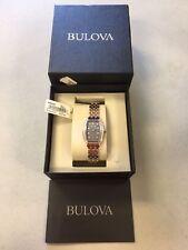 BULOVA 98R232 Diamond Two-Tone Stainless Steel Women's Watch #11