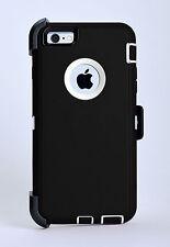Hybrid Armor Protective Case w/Clip APPLE iPhone 7 PLUS 7s PLUS (BLACK) USPS