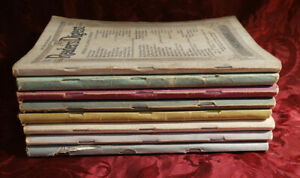Readers Digest Reading Copy Lot 1939 issues
