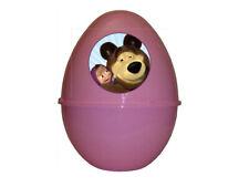 MASHA E ORSO Super Pasqualone Sorpresone Uovo di Pasqua Contenitore con Gadget