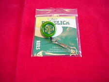 Fly Fishing Dr Slick Green Steel Cord Pin On Zinger w ring Great