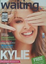 Kylie Minogue Waiting - rare magazine cover & in full