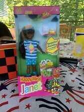 Barbie Doll McDonalds 1993 Happy Meal Janet Sealed In Box