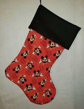 Mickey Mouse Handmade Holiday Christmas Stockings Home Decor
