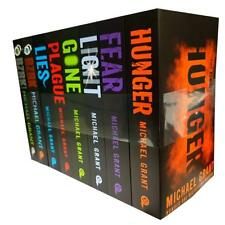 Michael Grant Gone Series Collection 8 Books Set Hunger Gone Fear Light NEW