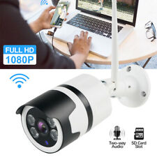 Wireless WiFi IP 1080P 2MP CCTV Camera Smart Outdoor Security IR Night HD Camera