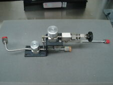 Needle Valve Assy, Bypass and Shutoff Assembly E17076200 Varian VIISion Gas Box