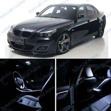 Xenon White Interior LED Package For BMW 5 Series E60 2004-2010 (12 Pieces)#461