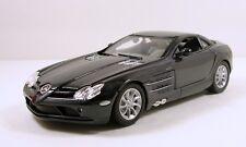 "Motor Max Mercedes Benz SLR McLaren 1:24 scale 7.5"" diecast model Gray M65"