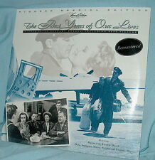 LD lasedisc PSE The BEST YEARS OF OUR LIVES Fredric March  Rmstrd & FSld!