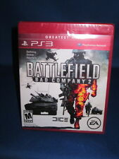 Sony Playstation PS3 Battlefield Bad Company 2 Sealed Complete