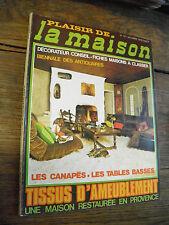 plaisir de la maison n° 121 biennale des antiquaires canapés tabls basses
