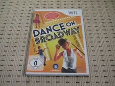 Dance on Broadway per Nintendo Wii e Wii U * OVP *