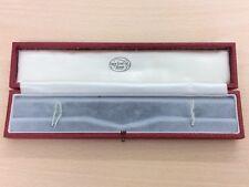 Reloj Pulsera De Cuero Caja de joyería de joyas por George TARRAT Leicester