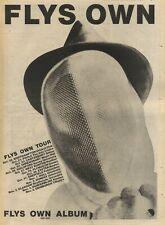 "20/10/79PN53 Advert: flys Own The New Album On Emi & Uk Tour Dates 15x11"""