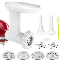 Antree Meat Grinder Attachment for KitchenAid Stand Mixer Food Grinder