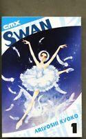 GN/TPB Swan Book One nm- 9.2 CMX DC Wildstorm Kyoko Ariyoshi