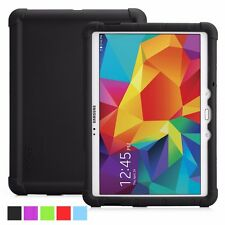 Turtle Skin Rugged Silicone Case for Samsung Galaxy Tab S 10.5 Black