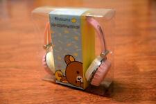 Rilakkuma auriculares Pink original japón San-x anime manga Headphones