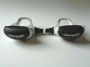 *NOS Vintage 1990s Campagnolo QR Pearl white clipless pedals with cleats*