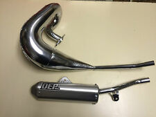YAMAHA DT125R DTR125 1989-2003 DT125 DEP PIPES COMPLETE EXHAUST SYSTEM SILENCER