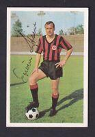 Erwin Stein .. Eintracht Frankfurt  .. Signiertes Bergmann   Sammelbild