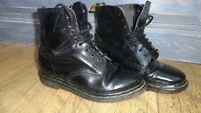 VINTAGE MADE IN ENGLAND BLACK LEATHER CLASSIC DR MARTIN DOCS UK 6