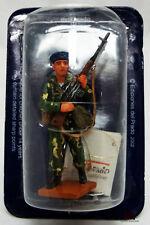 Figurine Del Prado soldat plomb Parachutiste Infanterie Naval URSS 1980 Figuren