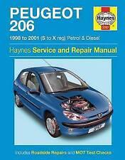 peugeot 206 car manuals & literature | ebay