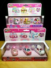 New SHOPKINS Cutie Cars TEA BRAKE COLLECTION & TASTY TAKEOUT COLLECTION! NIB